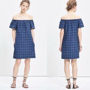 MADEWELL Plaid Tunic Dress